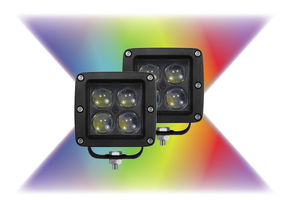 "Enthuze 3"" Multi-Color Flood Lamp"