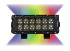 "Enthuze 8"" Multicolour LED Double Row Lamp"